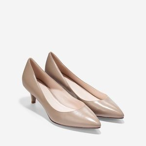 Cole Haan | Juliana Pump 45mm nude kitten heels